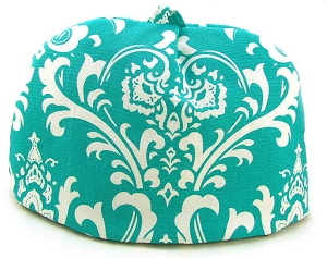 Classic Tea Cozy 2/4 Cup Turquoise Chateau
