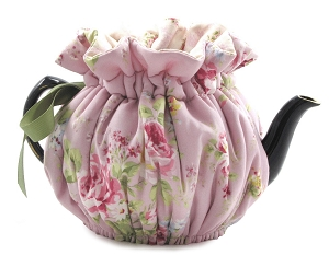 Wrap Around Tea Cozy 8 Cup English Rose Lavender