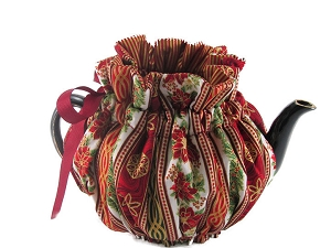 Wrap Around Tea Cozy 2 Cup Holiday Medley