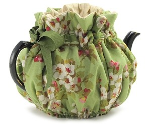 Wrap Around Tea Cozy 4 Cup Cherry Blossoms