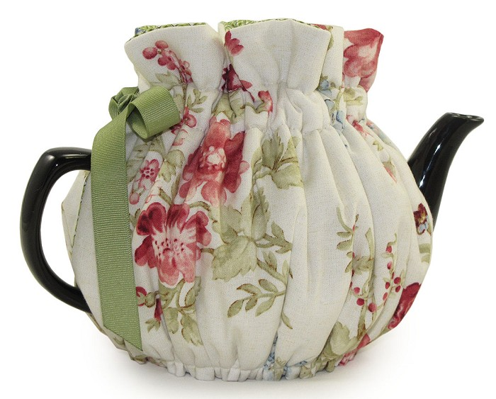 Wrap Around Tea Cozy 6 Cup Jardin Fleur